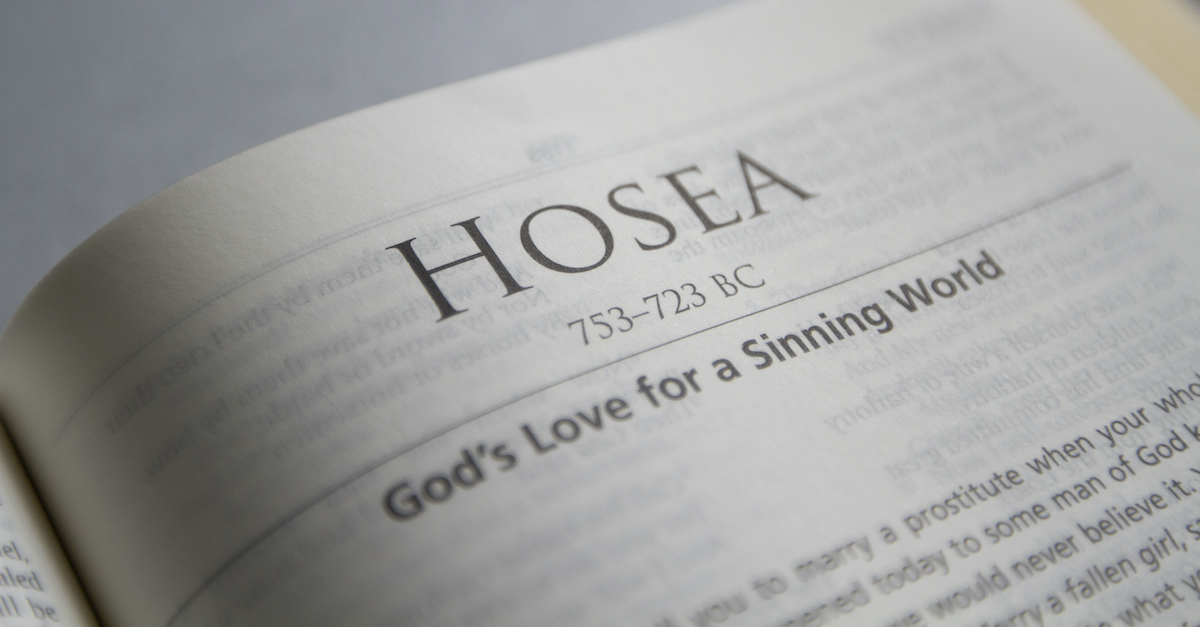 Jim Denison on Is Hosea's Warning Relevant to Us Today?