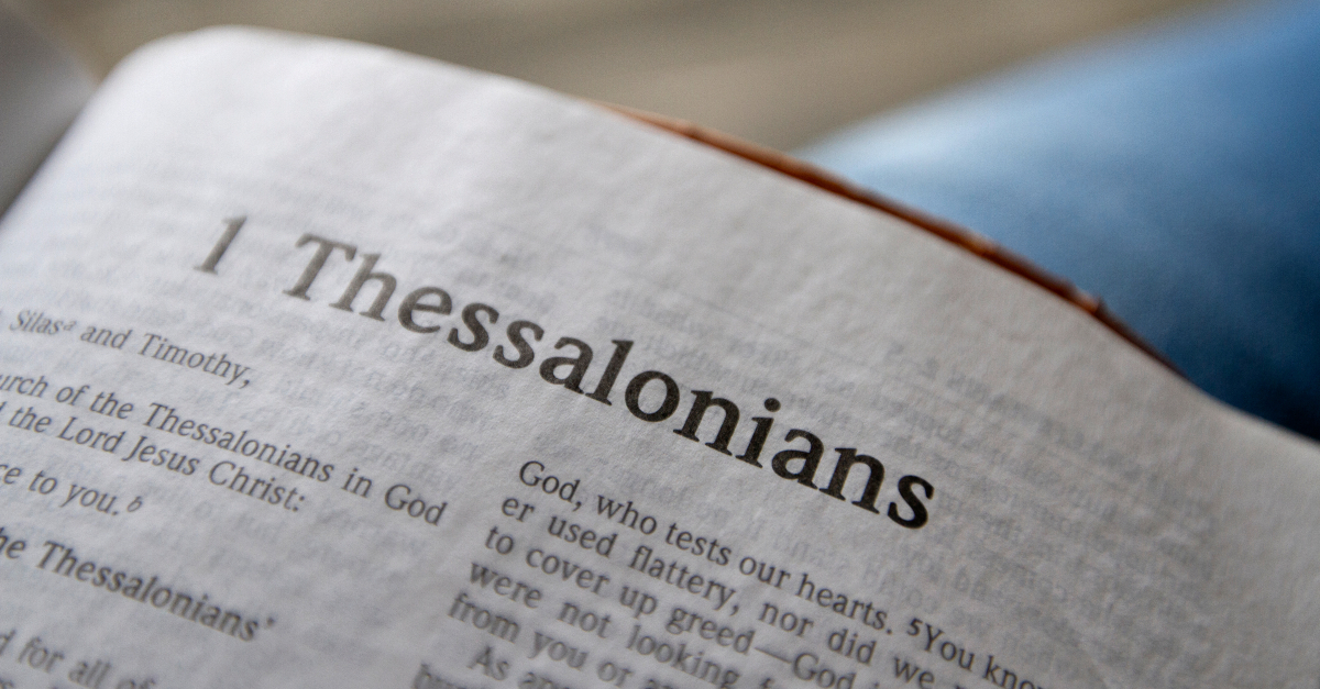 1 Thessalonians, book of 1 Thessalonians, Thessalonians summary