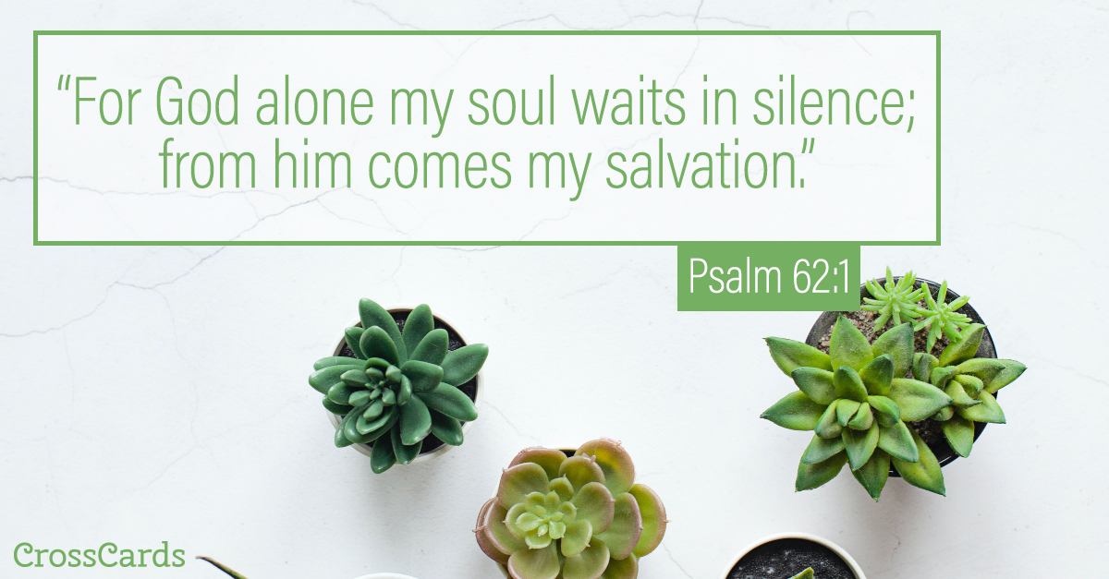 Psalm 62:1 ecard, online card