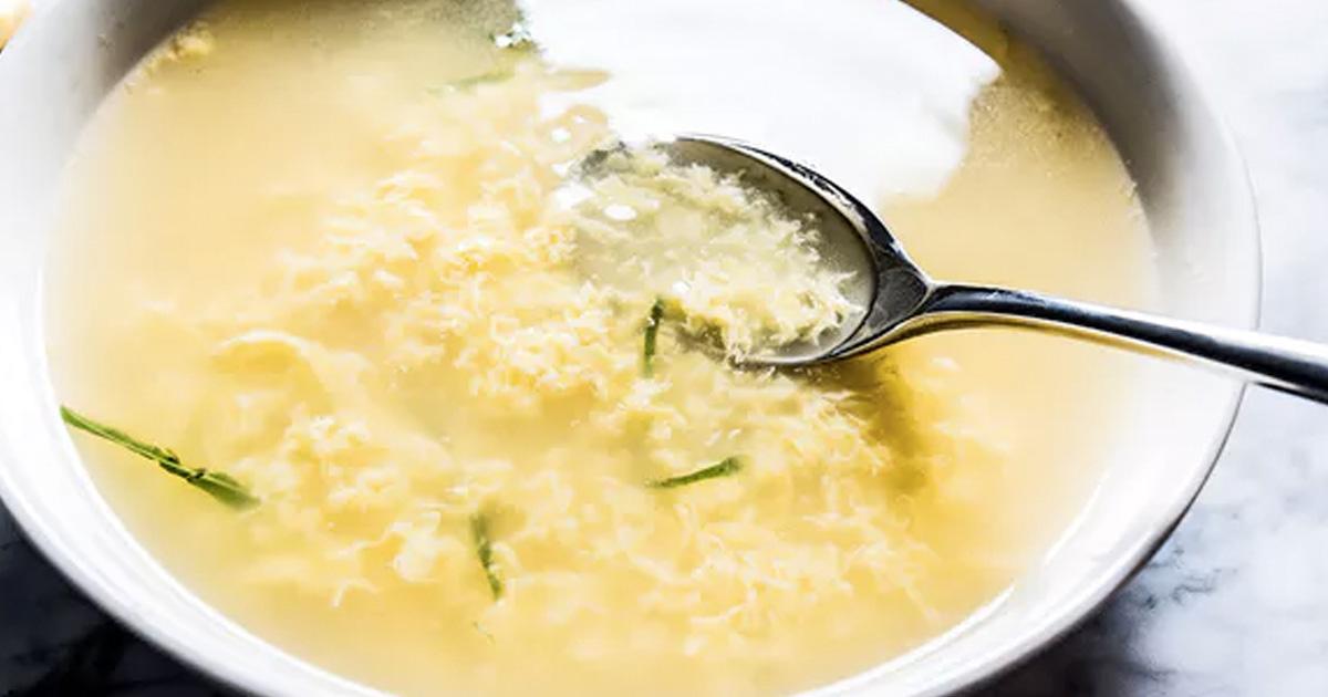 egg soup recipe