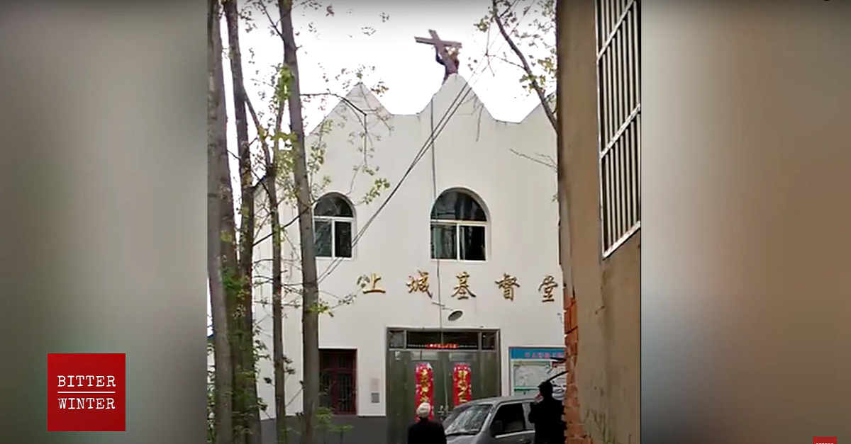China Forcibly Removes Crosses from 250 Churches in a Single Province