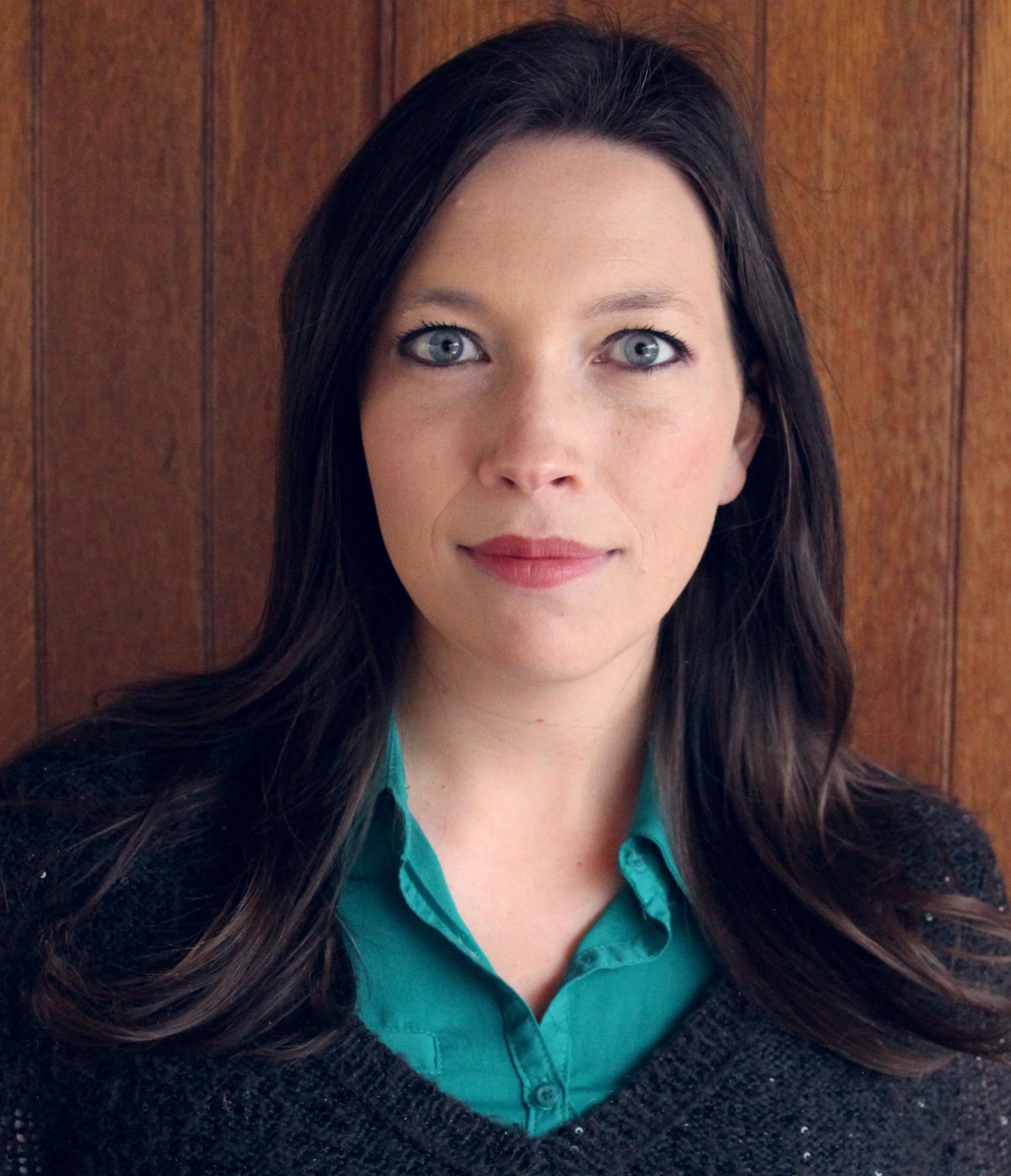 headshot of author Amy Green