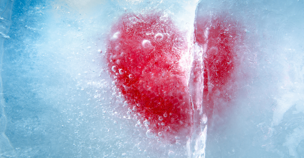 heart hardened in ice pharisee