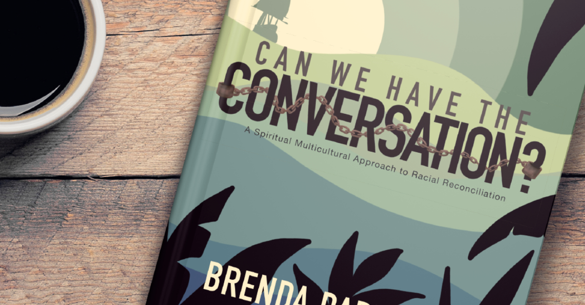 Can We Have the Conversation Book Cover and Coffee Cup