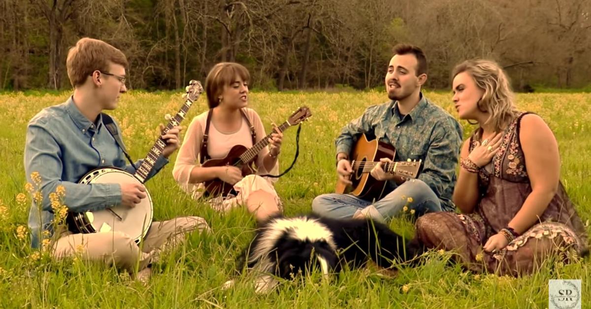 screenshot of bluegrass group