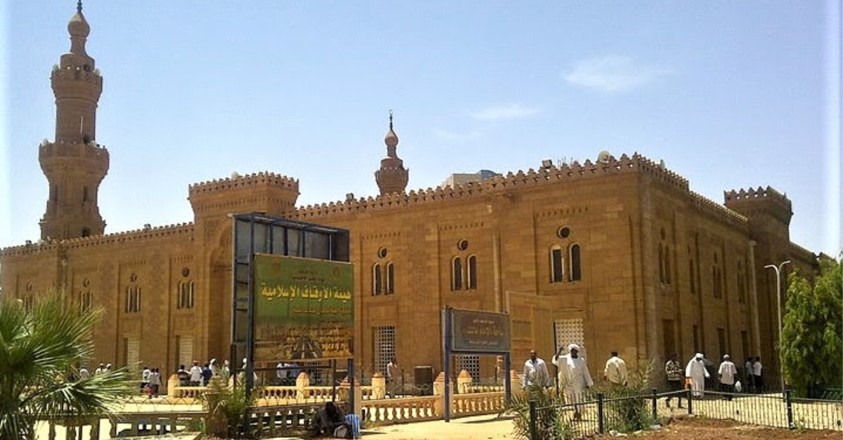 The Khartoum Mosque, Christians attacked in Sudan