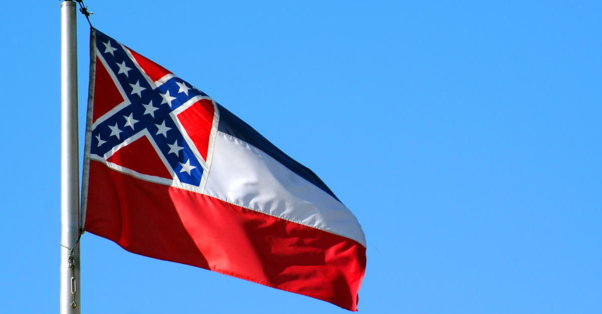 Mississippi Flag, Two politicians propose changing the confederate symbol in the Mississippi flag to 'In God We Trust'