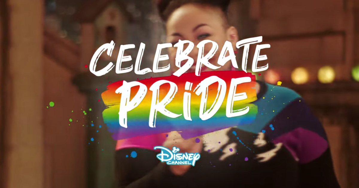 Disney Celebrating Pride Commercial, Disney and Nickelodeon debut LGBT Pride month commercials