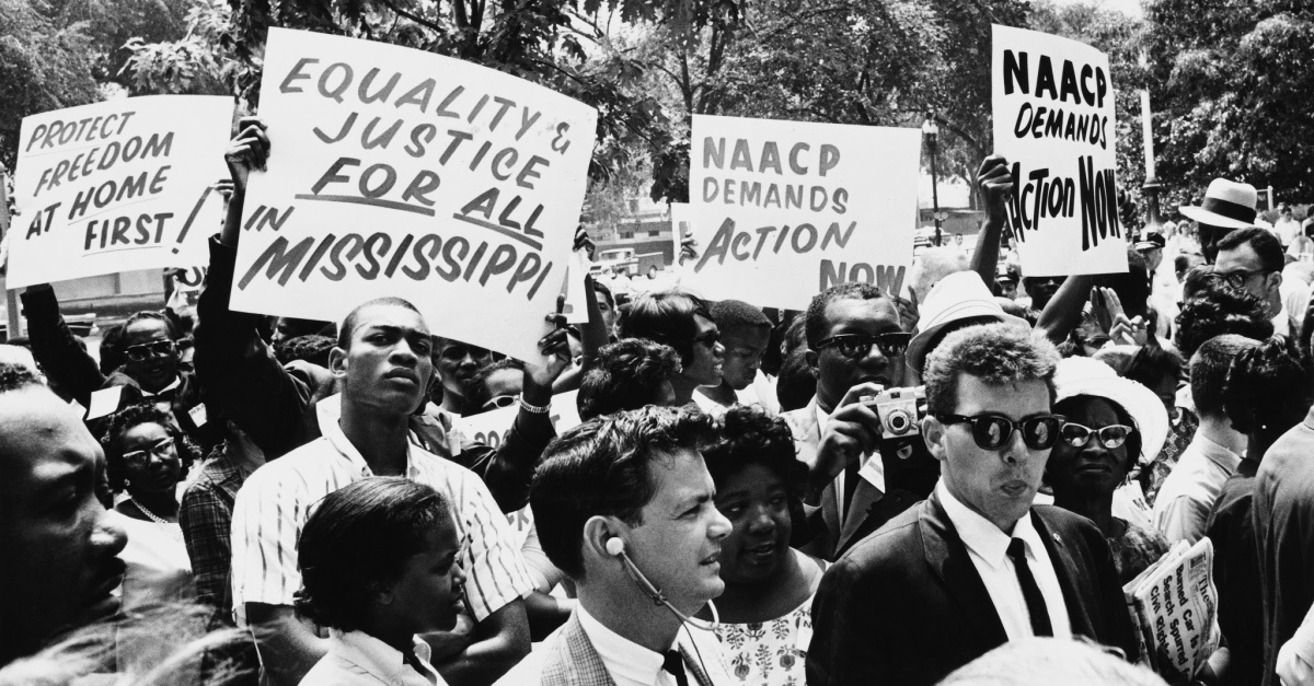 Civil Rights March, 'This Little Light of Mine' was a protest anthem of the Civil Rights Movement