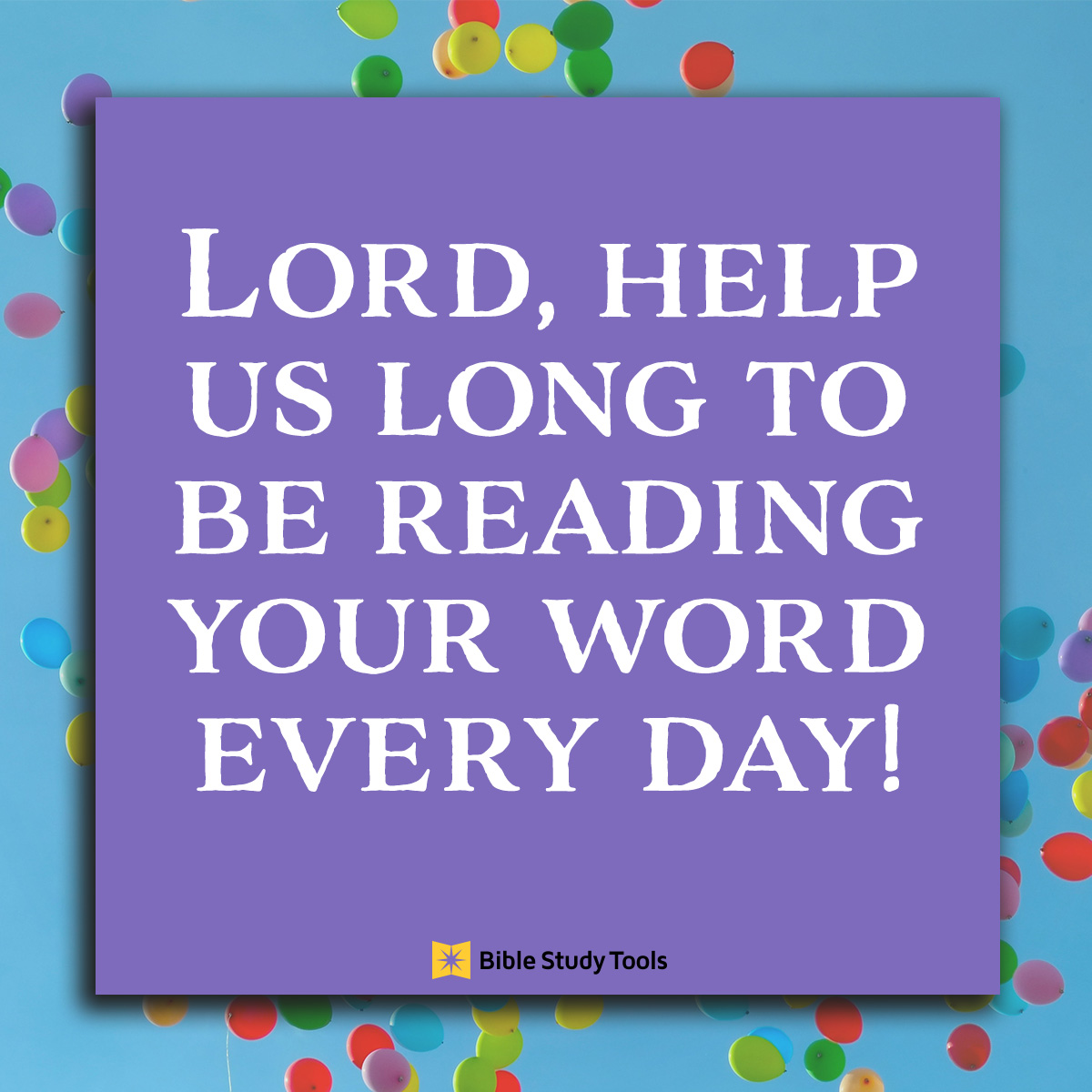 Read Gods Word Every Day