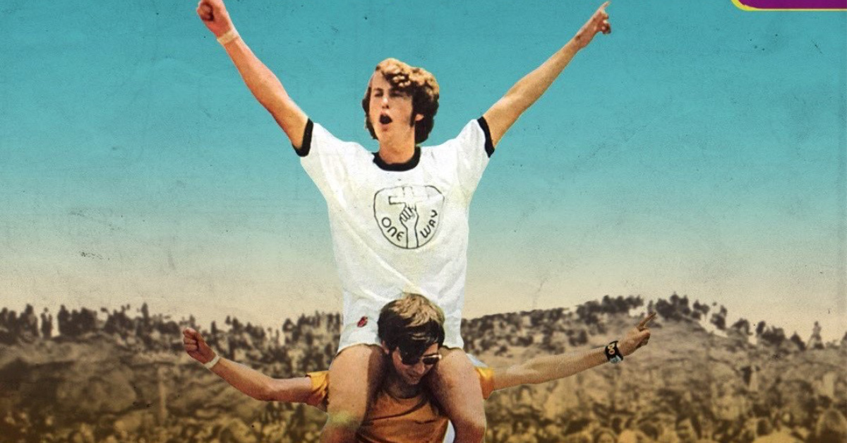 Jesus Revolution poster, A new movie on the 1960s and '70s Jesus Revolution is underway