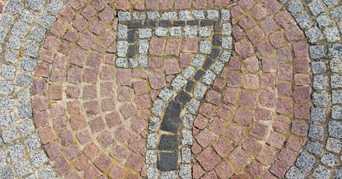 number 7 in patio stone design