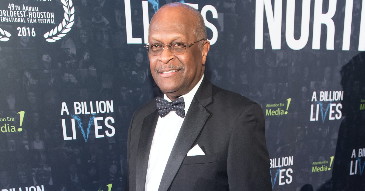 Herman Cain, Cain expresses gratitude for prayers following his COVID-19 diagnosis