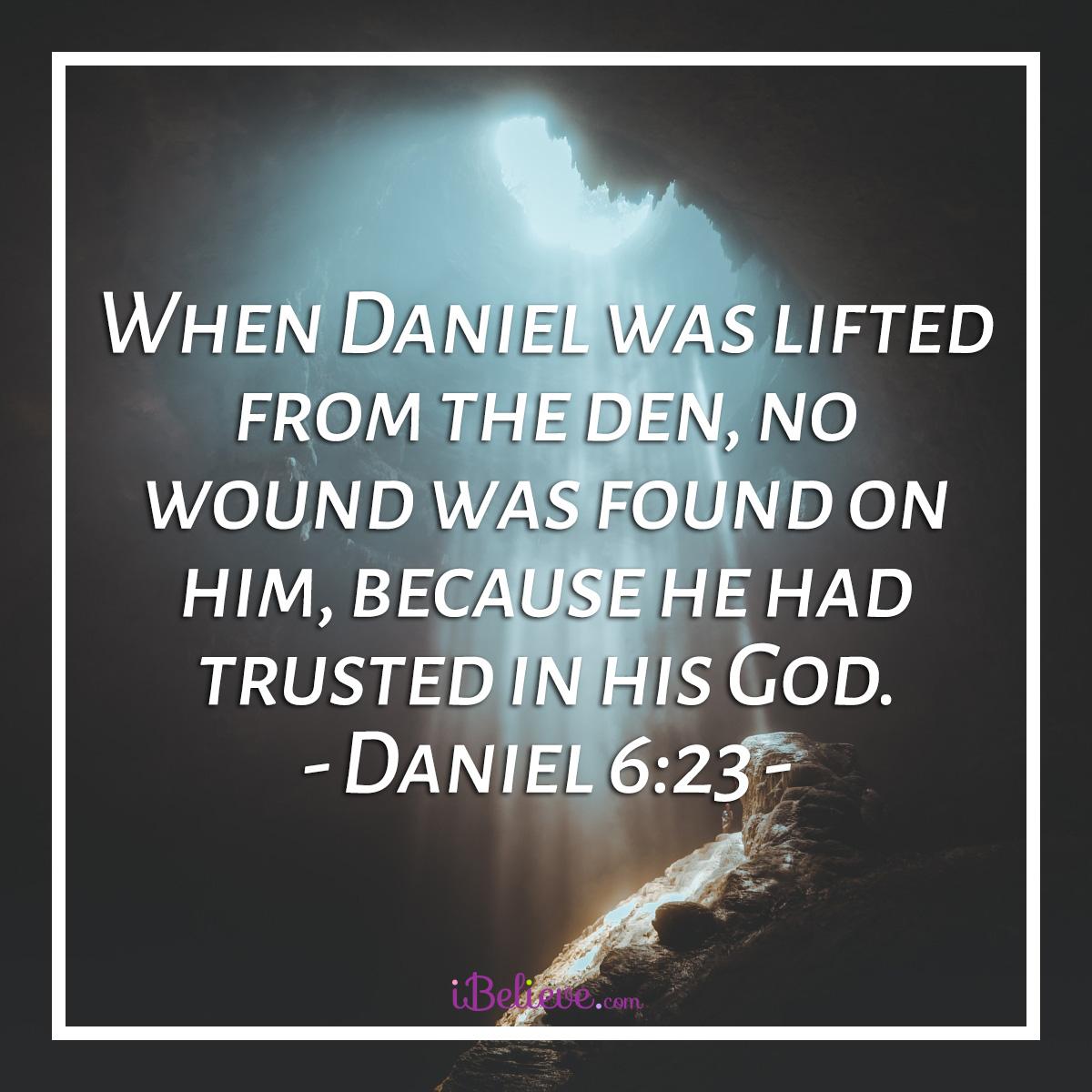 Daniel 6:23