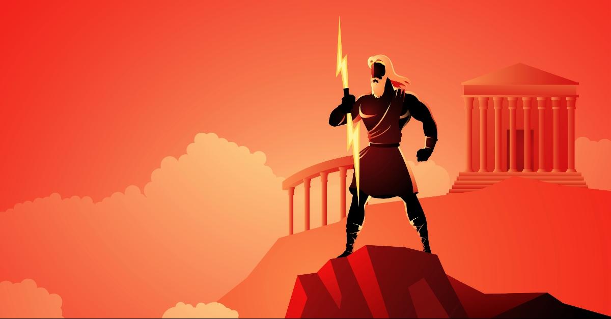 Zeus on Mount Olympus