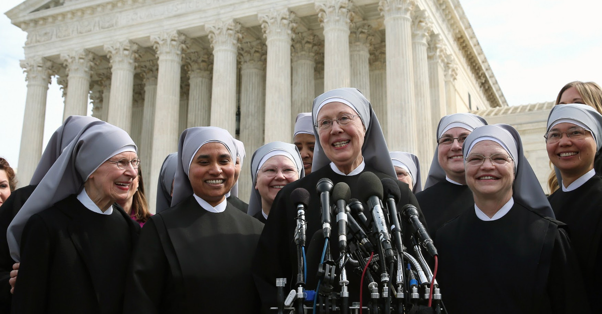 Little Sisters of the Poor, Supreme Court affirms religious institution's ability to uphold their religious beliefs