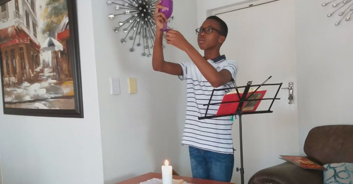 Without Church or Internet, Many South Africans Turn to Liturgies at Home