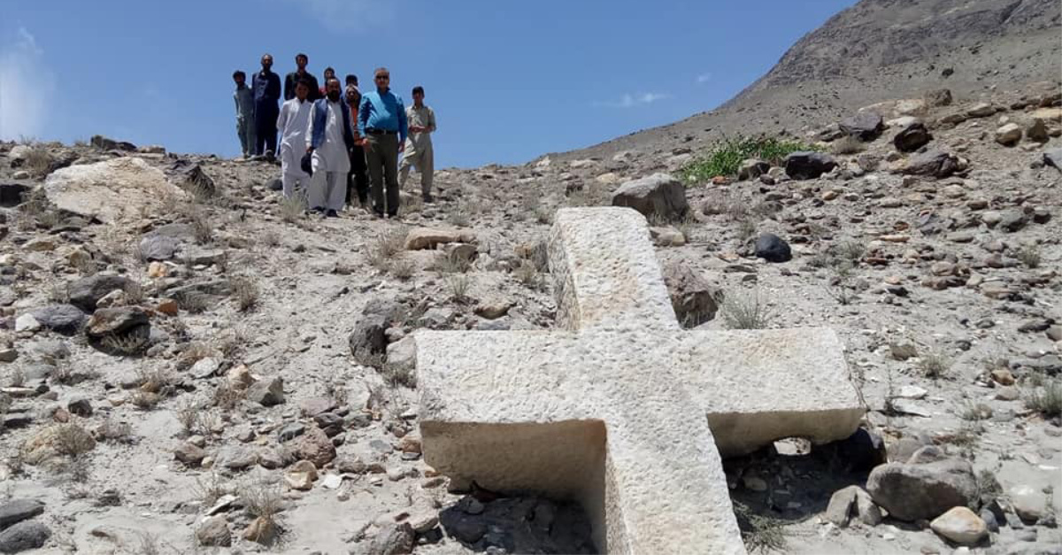 1,200-Year-Old Cross Found in Pakistan Implies Christianity Was There 'Before Islam Came'