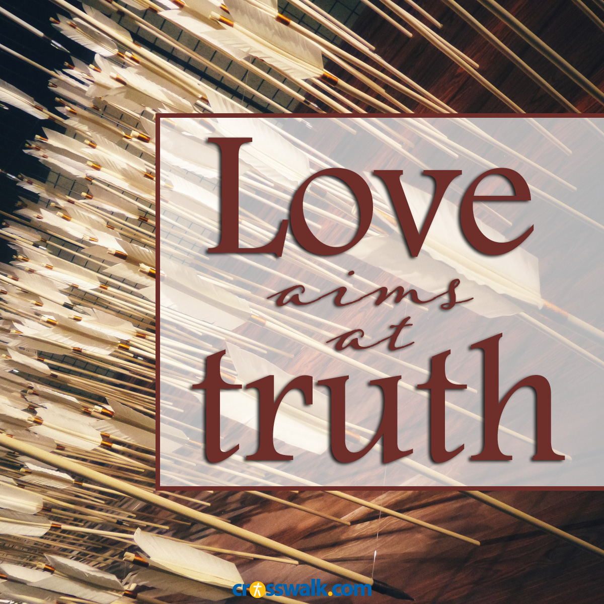love aims at truth