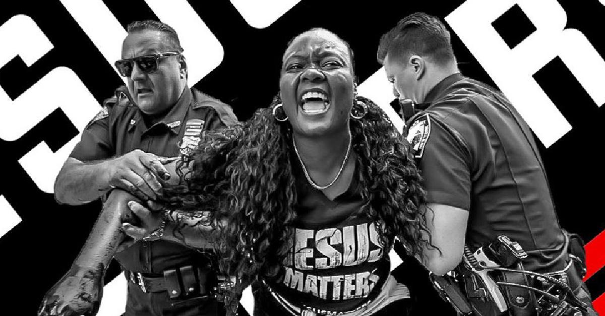 'Jesus Matters': Black Activists Paint over Black Lives Matter Murals across New York