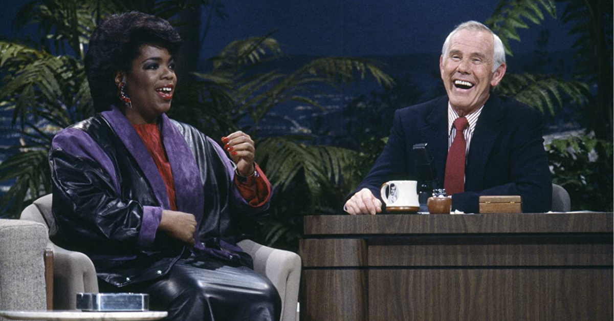 Still from the Johnny Carson Show