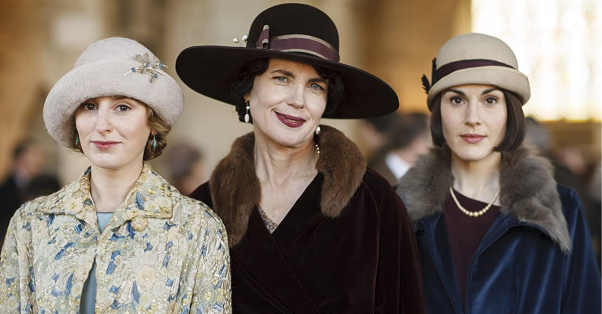 Still from Downton Abbey