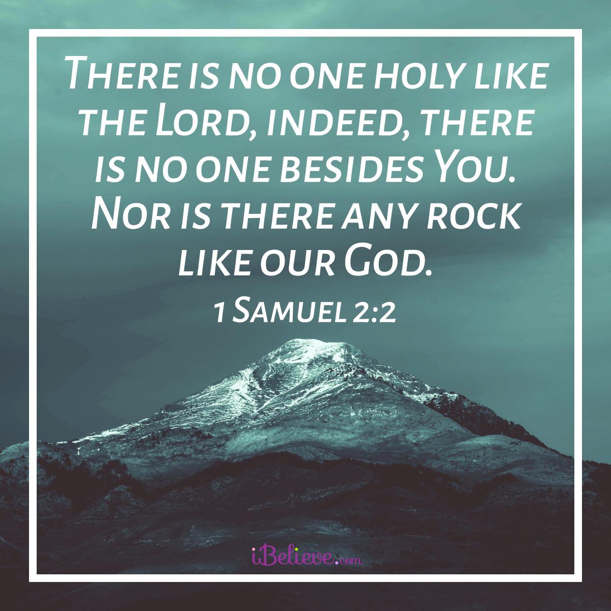 1 Samuel 2:2 sq