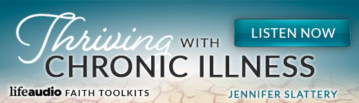 Thriving with Chronic Illness banner ad