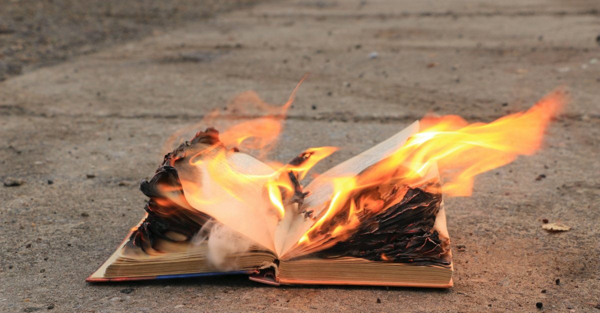 Burning Bibles in Portland and Two Sentences Every American Needs to Hear
