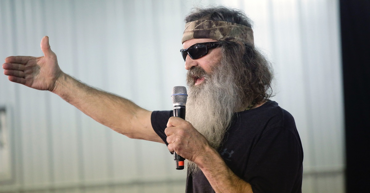 Phil Robertson, Robertson shares the gift of redemption through Christ