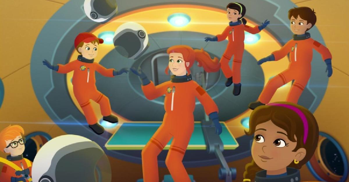 3. <em>The Magic School Bus Rides Again Kids In Space&nbsp;</em>(Netflix)