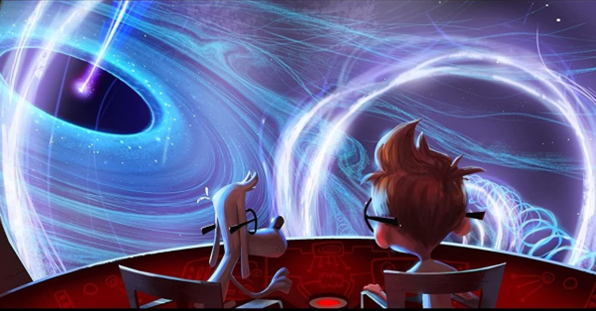 Graphic from Mr. Peabody and Sherman