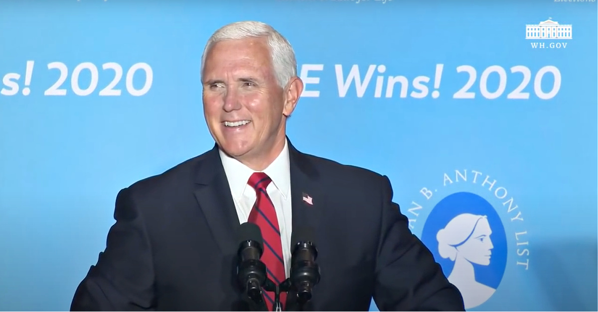 Mike Pence, Pence touts Trump's pro-life record