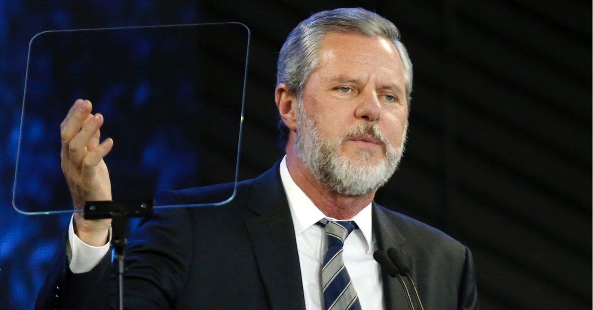 Jerry Falwell Jr, The board must replace Falwell in order to save Liberty University's soul