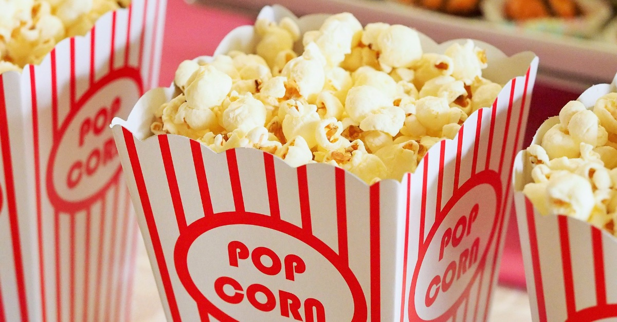 movie theater popcorn, nine faith-based films coming out in the fall