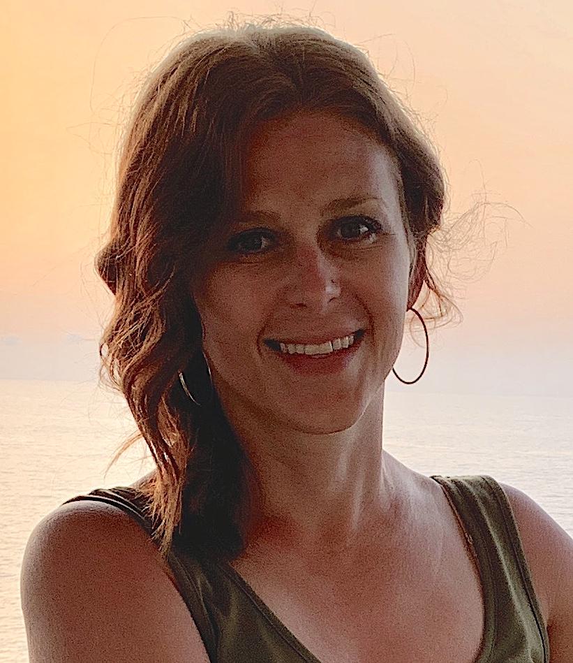 headshot of author Becky Weber