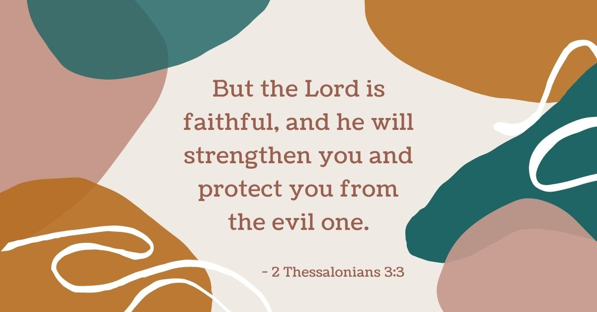 Your Daily Verse - 2 Thessalonians 3:3