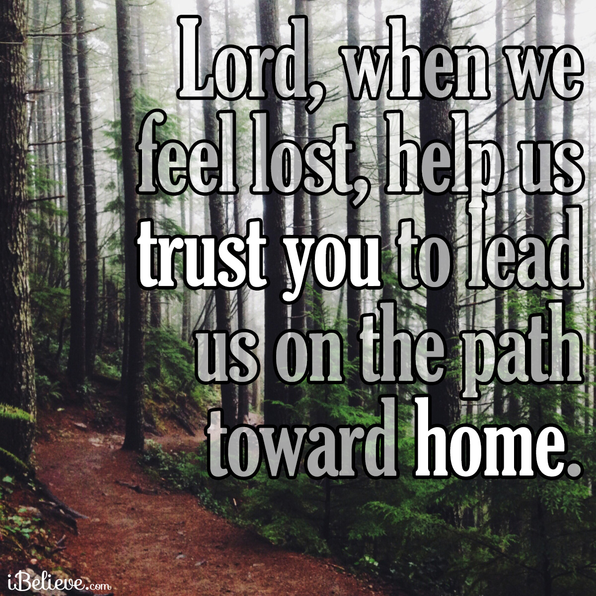 path toward home