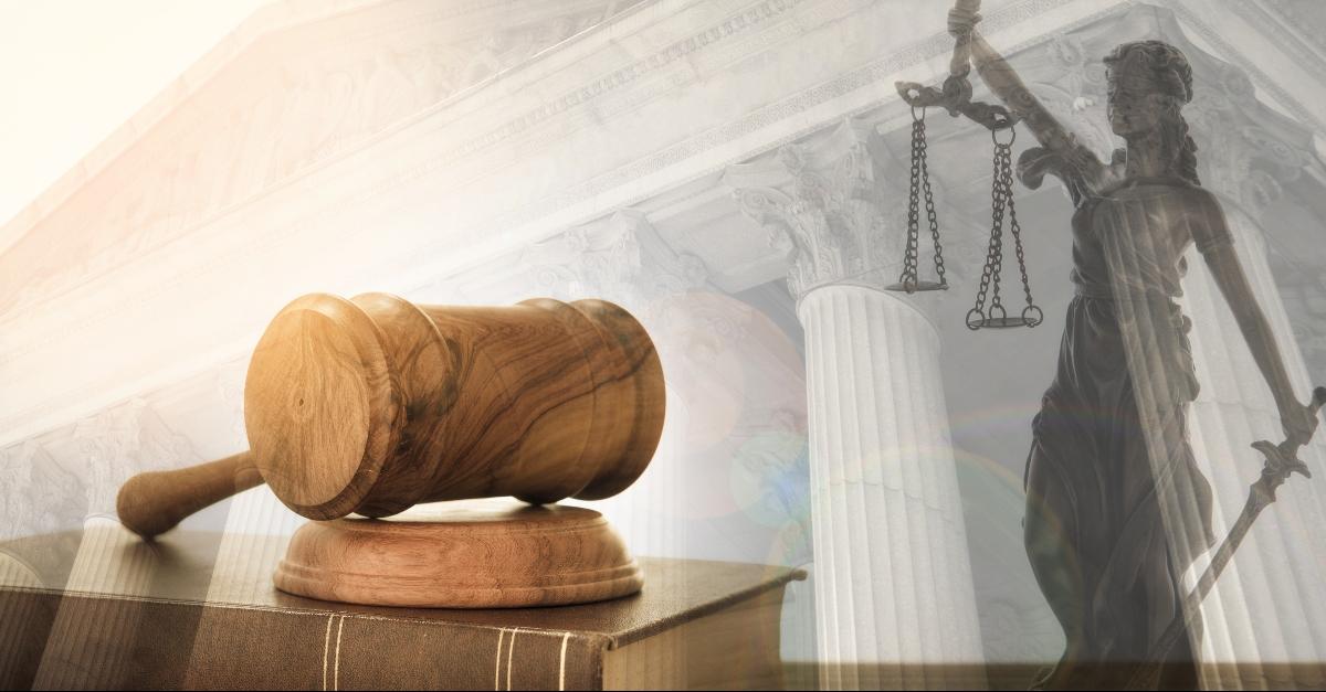 Justice symbols: Gavel, Lady Justice