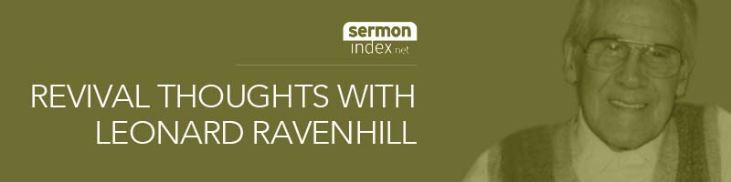 Revival Thoughts with Leonard Ravenhill banner