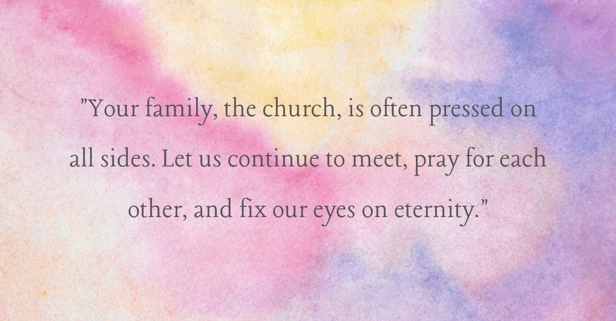 <strong>6. A Prayer for Optimism in the Church</strong>