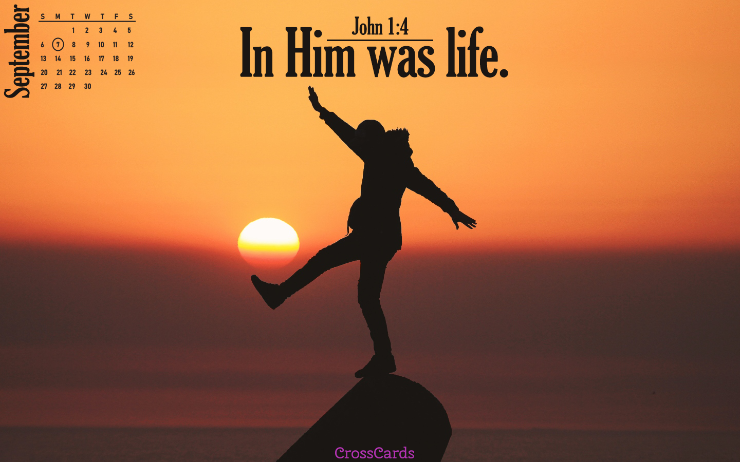 September 2020 - In Him Is Life mobile phone wallpaper