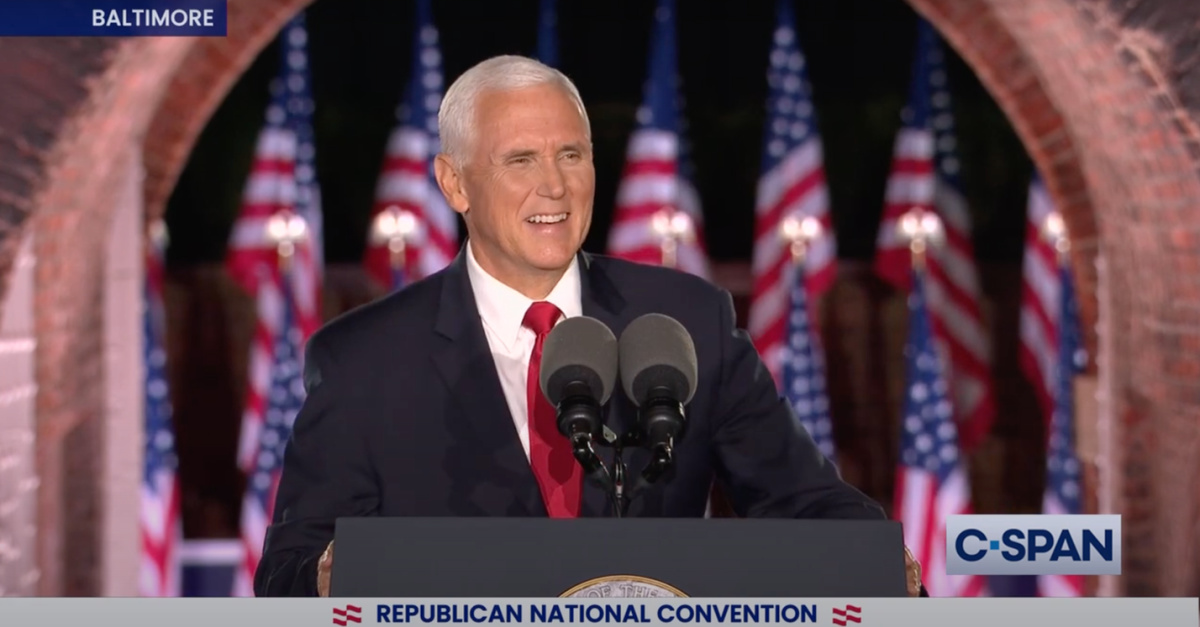 Mike Pence, Pence warns Americans of Joe Biden's deeply liberal agenda