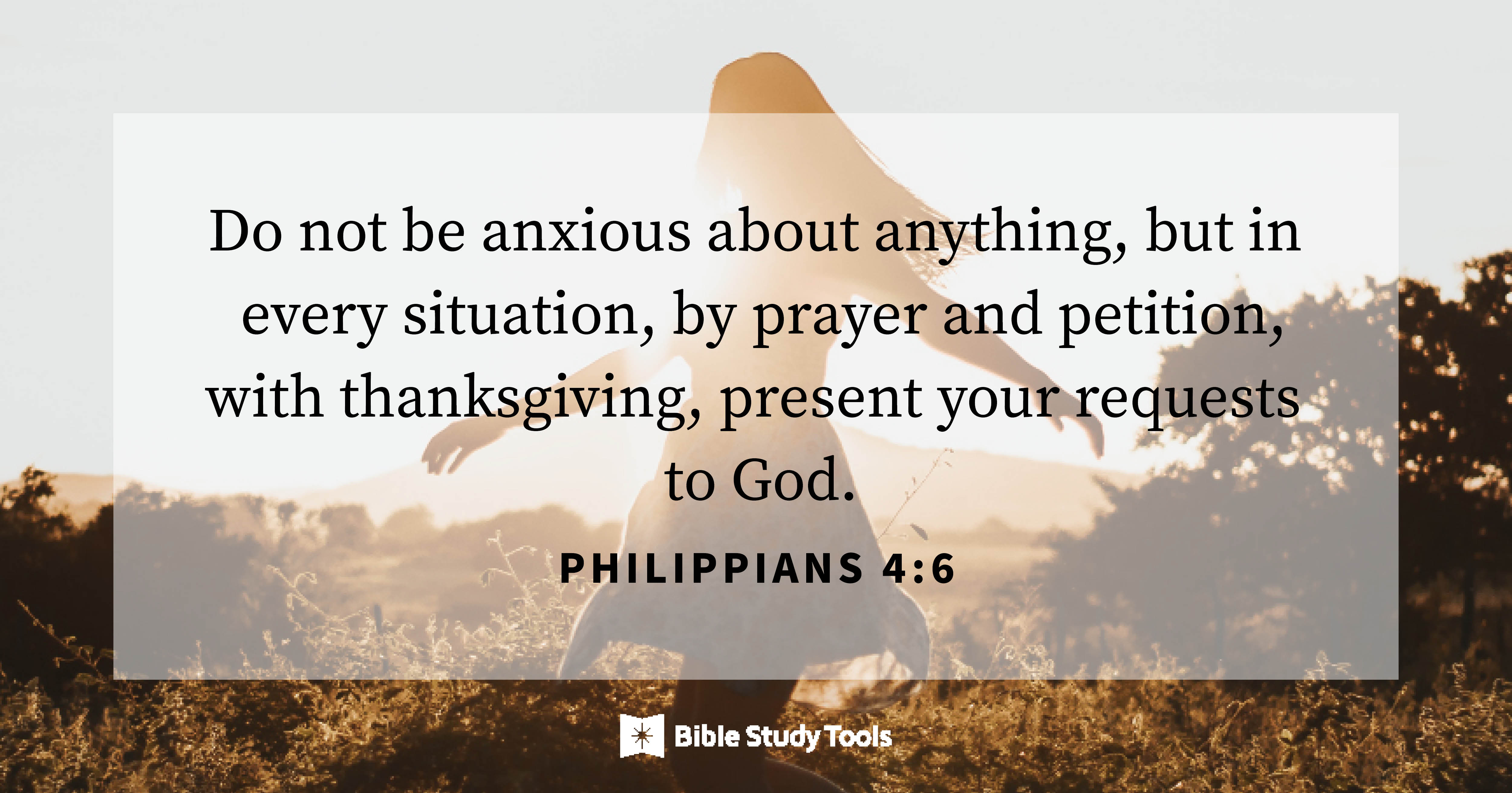 prayer for anxiety bible verses
