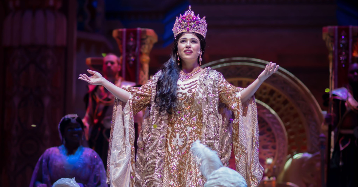 Photo from Queen Esther, Sight & Sound to broadcast its musical Queen Esther