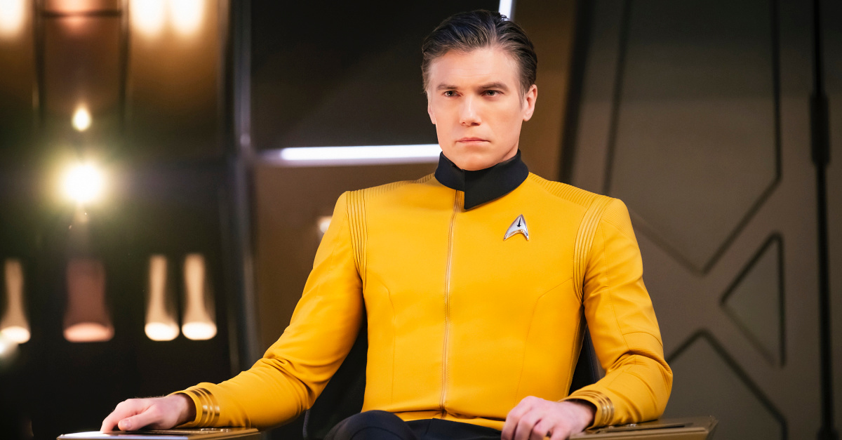 Still from Star Trek Discovery, Star Trek to introduce a transgender and a non-binary character