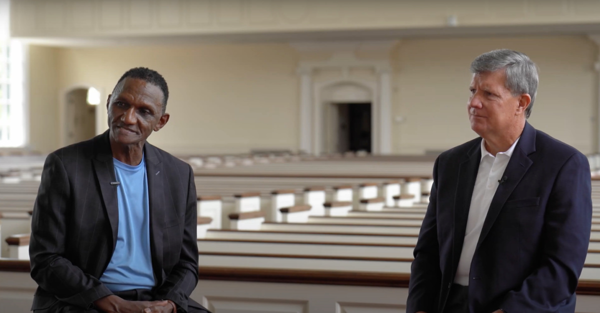 Otis Nixon and Barry Howard, Nixon and Howard discuss the church's role in the fight for racial unity