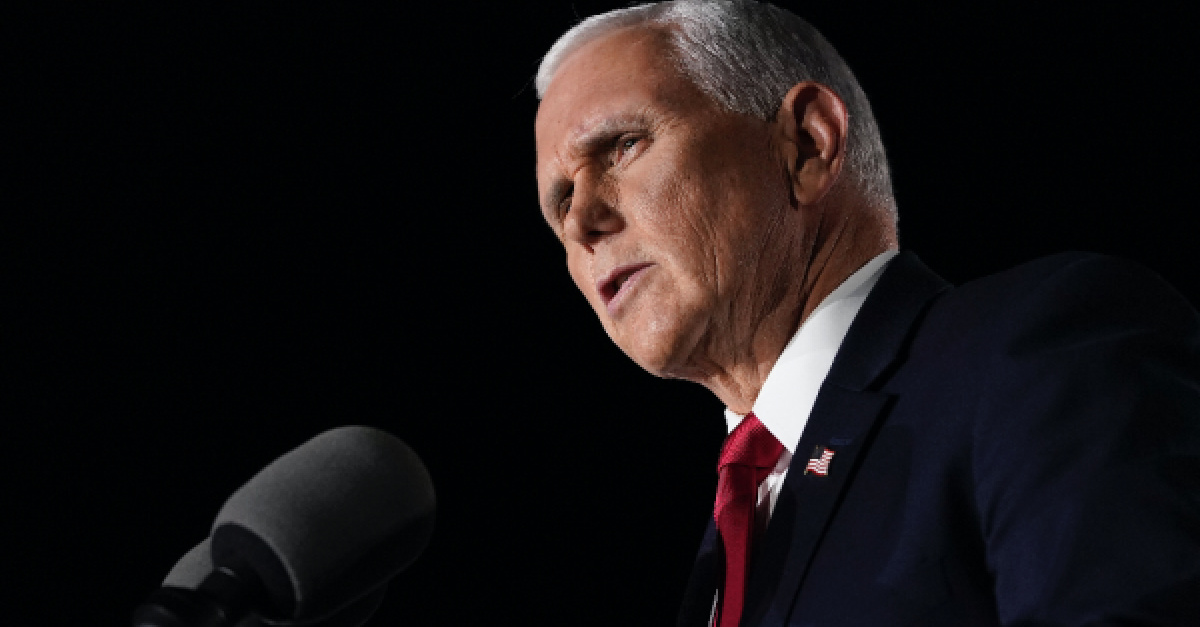 Mike Pence, Pence says God is pro-life
