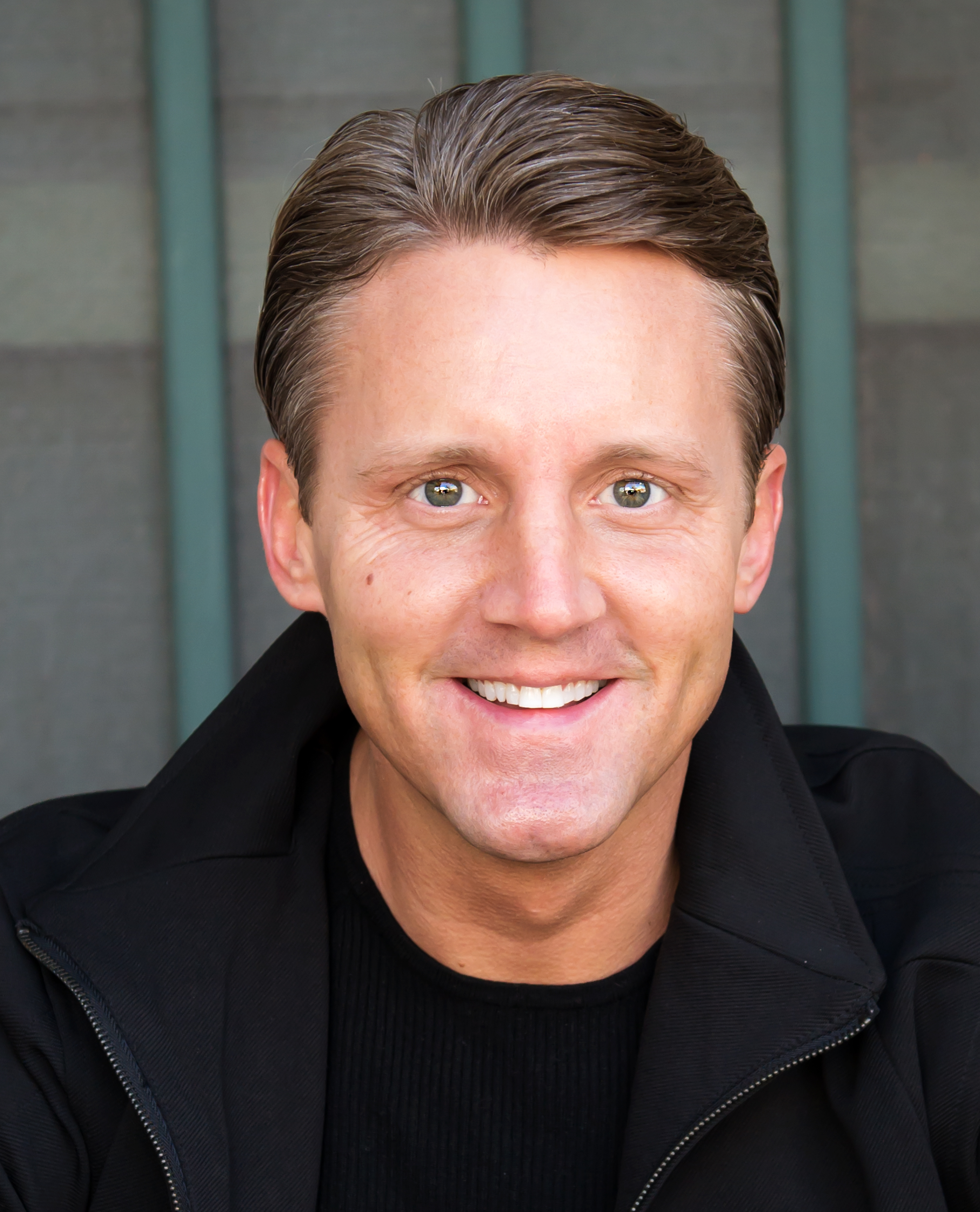 headshot of author Justin Kane