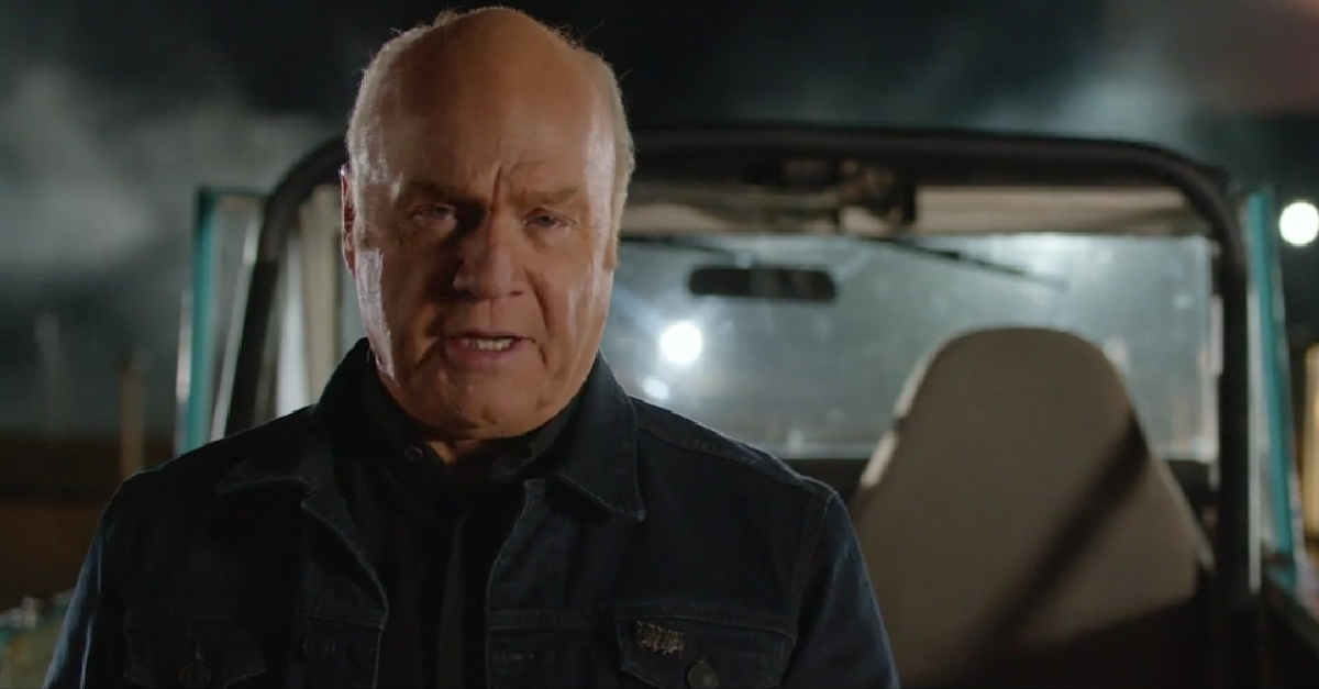 Greg Laurie, Laurie says 1.8 million people watched the evangelistic film A Rush of Hope over the weekend.